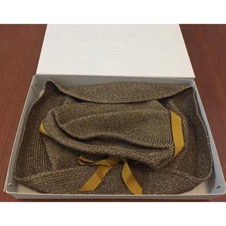 ミナペルホネン(mina perhonen)のぶっちい様専用 マチュアーハ mature ha BOXED HAT(麦わら帽子/ストローハット)