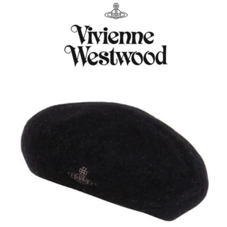 ヴィヴィアンウエストウッド(Vivienne Westwood)の値下げ!新品★ヴィヴィアンウエストウッド ベレー帽 タグ付き(ハンチング/ベレー帽)