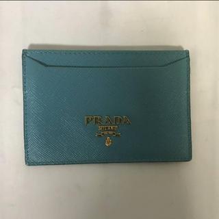 11aeacb7db65 プラダ 本革(ブルー・ネイビー/青色系)の通販 21点 | PRADAを買うなら ...