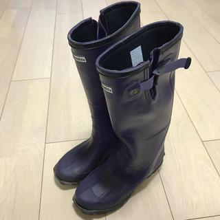 コロンビア(Columbia)のColumbia コロンビア レインブーツ 長靴 22cm 紫 パープル(レインブーツ/長靴)