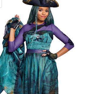 ディズニー(Disney)のDescendants2 ディセンダント ウーマ コスプレ 衣装セット S M(衣装一式)
