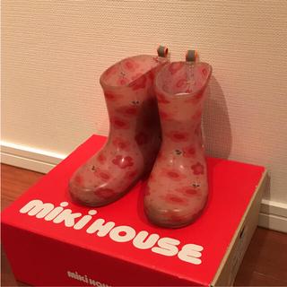 ミキハウス(mikihouse)の☆ほのぴ様専用☆ミキハウス☆長靴☆ピンク×うさこちゃん☆15cm☆レインブーツ☆(長靴/レインシューズ)