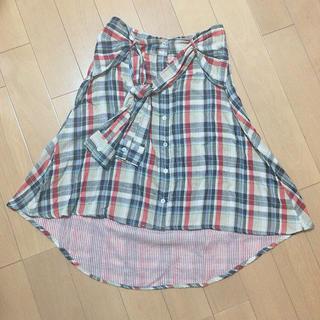 アップスタート(UPSTART)のスカート(ひざ丈スカート)