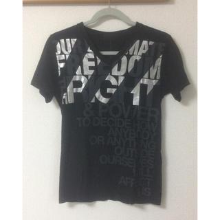 エイエスエム(A.S.M ATELIER SAB MEN)のA.S.M箔プリTシャツアトリエサブメン(Tシャツ/カットソー(半袖/袖なし))
