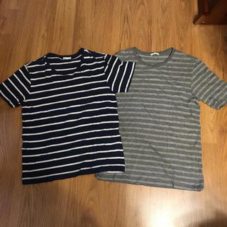 ジーユー(GU)のGU tシャツ2枚セット(Tシャツ/カットソー(半袖/袖なし))