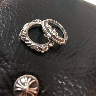 クロムハーツ(Chrome Hearts)のクロムハーツ ベビーフローラルクロスリング(リング(指輪))