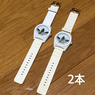 アディダス(adidas)のadidas アディダス 腕時計 ホワイト(腕時計(アナログ))