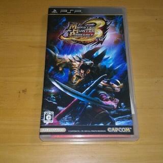 プレイステーションポータブル(PlayStation Portable)のPSP モンスターハンターポータブル3rd(携帯用ゲームソフト)