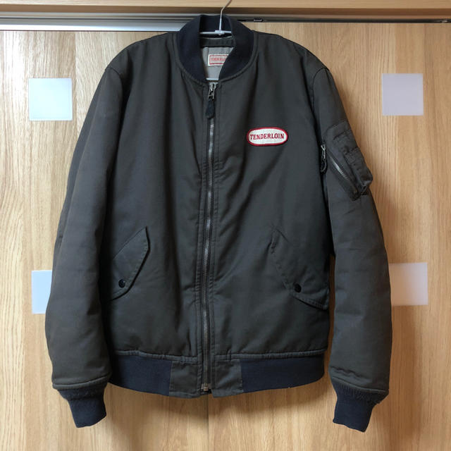 TENDERLOIN(テンダーロイン)のテンダーロイン MA-1 ジャケット Tenderloin 初期 メンズのジャケット/アウター(フライトジャケット)の商品写真