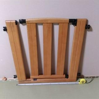 グランドール(GRANDEUR)のグランドール ベビーゲート木製 最終値下げ中(ベビーフェンス/ゲート)