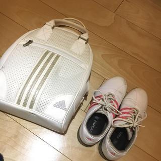 アディダス(adidas)のアディダス  ゴルフシューズ バックセット(シューズ)
