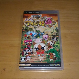 プレイステーションポータブル(PlayStation Portable)のPSP モンハン日記ぽかぽかアイルー村G(携帯用ゲームソフト)