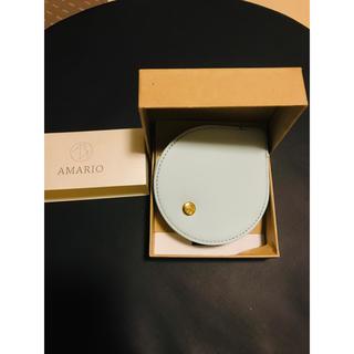AMARIO レンズキャップケース drop ライトブルー Lサイズ(その他)