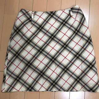 バーバリーブルーレーベル(BURBERRY BLUE LABEL)のバーバリー ブルーレーベル スカート(ミニスカート)