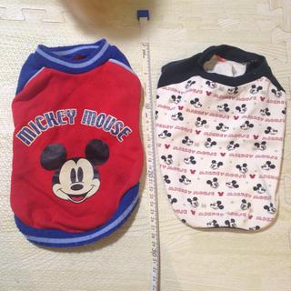 ディズニー(Disney)の犬服  ミッキー  チワワ  2枚セット(犬)