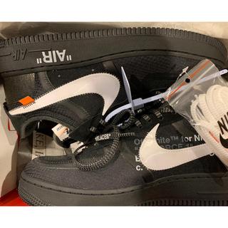 オフホワイト(OFF-WHITE)の☆RYU987様専用☆Off White Nike Air Force 1(スニーカー)