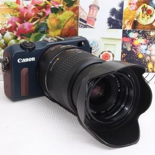 キヤノン(Canon)の❤️Wi-Fi内蔵&スマホでリモート操作❤️キャノン EOS M2❤️(ミラーレス一眼)