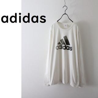 アディダス(adidas)のアディダス デカロゴ ロンT used(Tシャツ/カットソー(七分/長袖))
