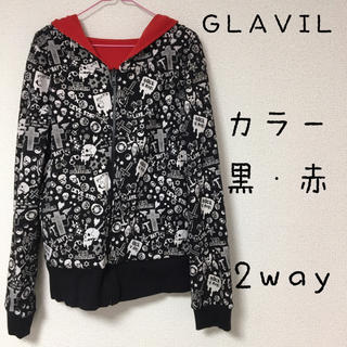グラビル バイ チュチュア(GLAVIL by tutuHA)のGLAVIL パーカー 2way(パーカー)