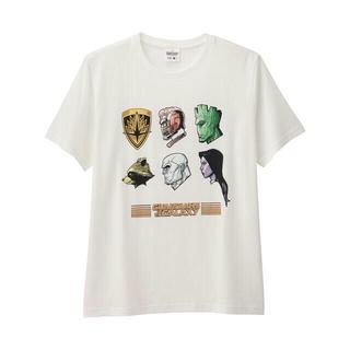ジーユー(GU)のガーディアンズオブギャラクシー UT G.U Tシャツ スターロード サノス(Tシャツ/カットソー(半袖/袖なし))