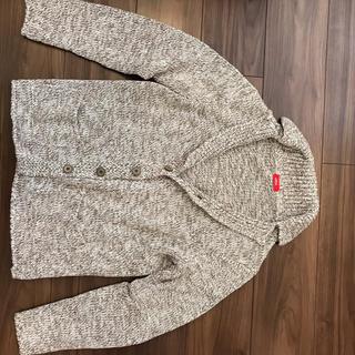 アルテア(ALTEA)の【値下げ】altea 春ニットジャケット XS ブラウン(テーラードジャケット)