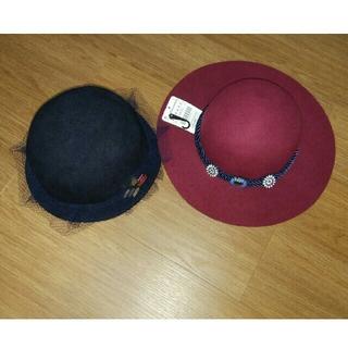 ザラ(ZARA)のザラ 帽子 2セット 未使用(ハット)