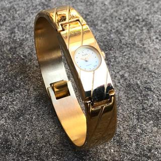 アルバ(ALBA)のALBA(アルバ) レディース ゴールド バングル型 腕時計(動作未確認)(腕時計)