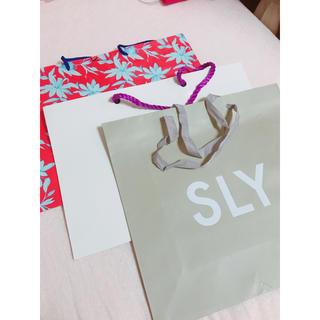 スライ(SLY)のSLY ショップ袋 セット(ショップ袋)
