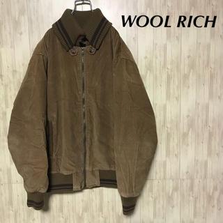 ウールリッチ(WOOLRICH)の美品 WOOL RICH ブルゾン 中綿入り メンズL(ブルゾン)