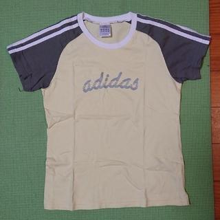 アディダス(adidas)のアディダス レディースTシャツ  M(ウェア)