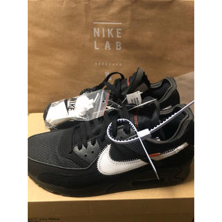 ナイキ(NIKE)のnike off-white airmax 90(スニーカー)