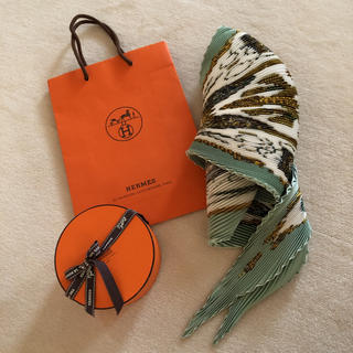 エルメス(Hermes)のエルメススカーフ プリーツ90(スカーフ)