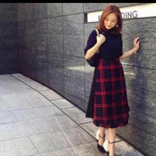 チェスティ(Chesty)の【rino ママ様専用】chesty ♡ チェックスカート(ひざ丈スカート)