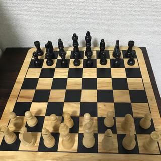 チェス盤セット(オセロ/チェス)