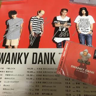 デビルユース(Deviluse)の SWANKY  DANK 直筆サイン入りA2ポスター(ミュージシャン)