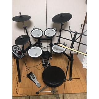 ローランド(Roland)のRoland 電子ドラム TD-11 譜面台も(電子ドラム)