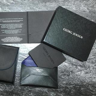 ジョージジェンセン(Georg Jensen)の新品✨GEORG JENSEN 名刺入 カードケース ジョージジャンセン(名刺入れ/定期入れ)