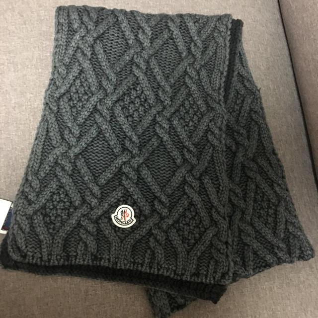 MONCLER(モンクレール)のモンクレール マフラー メンズのファッション小物(マフラー)の商品写真