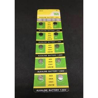 AG3 アルカリ電池1.55Vボタン電池 10個(体脂肪計)