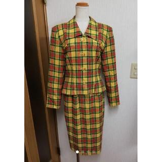 ハナエモリ(HANAE MORI)のHANAE MORI チェック柄 スーツ(スーツ)