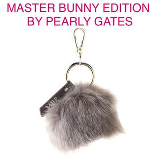 パーリーゲイツ(PEARLY GATES)の★新品★ ☆PEARLY GATES☆ ファーボールホルダー グレー(その他)