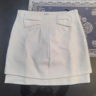 モルガン(MORGAN)のモルガン MORGAN 台形ミニスカート(ミニスカート)
