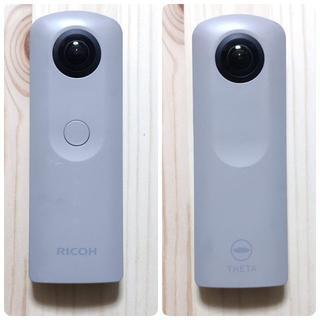 リコー(RICOH)の全天球360度カメラ RICOH THETA SC ベージュ (コンパクトデジタルカメラ)