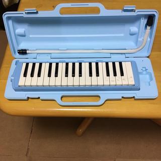 鍵盤ハーモニカ ピアニカ ブルー(キーボード/シンセサイザー)