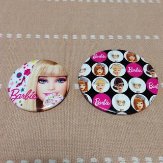 バービー(Barbie)のBarbie 缶バッチ2個セット(ブローチ/コサージュ)