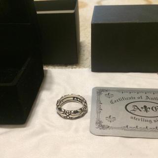 クロムハーツ(Chrome Hearts)の元クロムハーツデザイナーが手がける A&G クロムハーツ純銀 ZIP リング(リング(指輪))