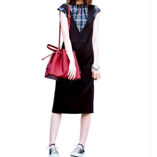 ジーユー(GU)の新品 GU ジャンパースカート ジャンパーワンピース(ひざ丈スカート)