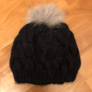 ローズバッド(ROSE BUD)のローズバッドニット帽(ニット帽/ビーニー)