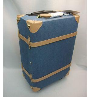 ディス(Dith)の訳あり Dith ディス キャリーケース Sサイズ デニムブルー BL1 153(スーツケース/キャリーバッグ)