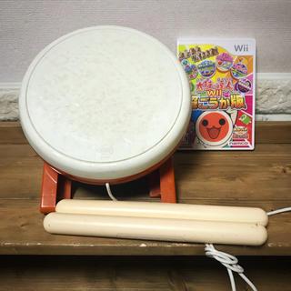 バンダイナムコエンターテインメント(BANDAI NAMCO Entertainment)の太鼓の達人 Wii   超ごうか版 セット(家庭用ゲーム機本体)